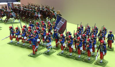 Eric Hall's Wonderful Franco Prussian war army